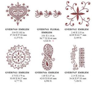 Great Notions 1573 Mehndi Embroidery Designs Multi-Formatted CD