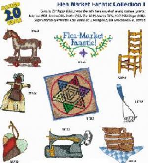 Amazing Designs 1224 Flea Market Fanatic I Embroidery Disks