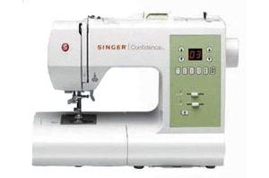 Singer, Confidence, 7467S, 0-37431-882303-2, 0374318823032, 67, 120, Stitches, Computer, Sewing, Machine, 3, 1, Step, BH's, Auto, Tension, Threader, Back, tack, 13, Needle, Position, Stop, Up, 750, SPM, Keyhole