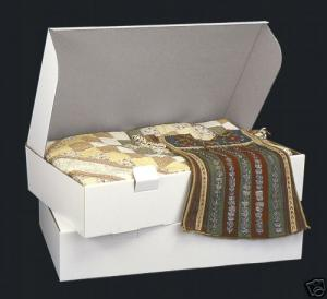 "Antique Wedding Gowns - SAR AcidFree Storage Box 6x30x18"" & 24 Of 20x30"" Wraps For Family Heirloom Quilts Wedding Dresses Gowns Uniforms Embroidery Antique Collectibles"