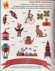 Amazing Designs AD2004 Cross Stitch Collection I Floppy Disk