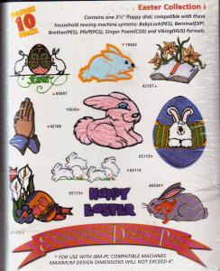Amazing Designs AD2009 Easter Collection I Floppy Disk