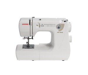 Janome, Jem Gold 660, janome jem gold 661, 661g, 12 Stitch, Compact, Lightweight, Sewing Machine, Drop-in Bobbin, 4 Step BHs, Free Motion, 12Lb, Like Jem 661, Silver 662, 25/2Yr Wnty