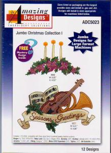 Amazing Designs / Great Notions 5023 Jumbo Christmas Collection I Multi-Formatted CD