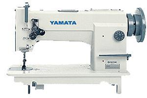 Yamata GC0618 (FY618) Walking Foot Needle Feed Up Sewing Machine, Assembled on Power Stand
