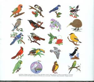 Dakota Collectibles, 970068, Pretty Birds, Embroidery Designs, Multi-Format CD