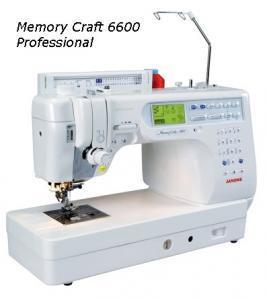 Janome 6600P Demo Computer Sewing Machine with AcuFeed Walking Foot