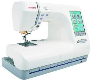 Janome, Memory Craft, MC10001,   Sewing Embroidery, & Quilting Machine, ATA PC Card, USB Stick & RS232C Ports ,Thread Color Conversion, 3700 Designs