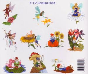 Dakota Collectibles 970142 Sewing Big 16 Fairies & Gnomes Multi-Formatted CD