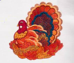 Joei's Thanksgiving Applique Magic 5 X 7 CD