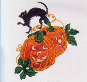 Joei's Halloween Applique Magic 5 X 7 CD
