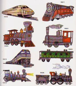 Amazing Designs Great Notions 1294 Trains Collection I Multi-Format CD