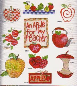 Amazing Designs / Great Notions 1297 Apples Collection I Multi-Formatted CD