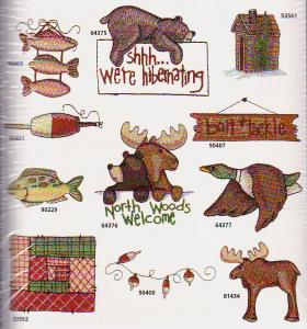 Amazing Designs / Great Notions 1296 North Wood Whimsy Collection Multi-Formatted CD