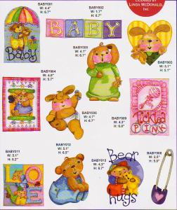 Amazing Designs ADP-14J Baby Buttons Jumbo Designs I Multi-Formatted CD