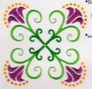 Amazing designs BMC NZ23 Nancy Zieman Floral Boutique Collection I Brother Embroidery Card .pes Format