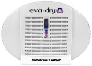 Small Appliances - Eva Dry E 500 High Capacity Dehumidifier Removes Moisture From Clothing In Small Enclosed Areas With Crystalized Silica Gel Plug-in To Wall To Renew