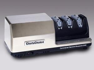 EdgeCraft, Chefs Choice 2100, Commercial, Diamond Hone, 3 Stage, Knife Sharpener