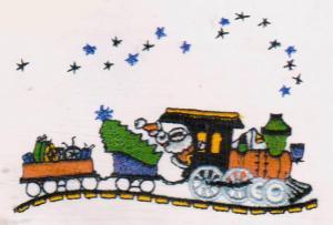 Amazing Designs ENHMC-1102 / 102 Christmas Collection I Embroidery Card