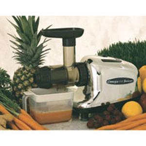 Omega J8005, Multi Purpose, Fruit and Vegetable, Juicer Extractor, Chrome