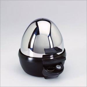 Aroma AEB-917 Stainless Steel Egg Boiler with Timer Cooks 7 Eggs at a time; Soft to Hard Boiled
