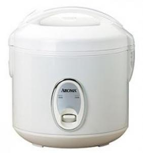Aroma ARC-914S 4 Cup Cool Touch Rice Cooker with White Control Panel