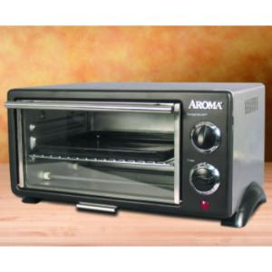 Abt Appliances - Aroma ABT-208S 8 Liter Stainless Steel Toaster Oven