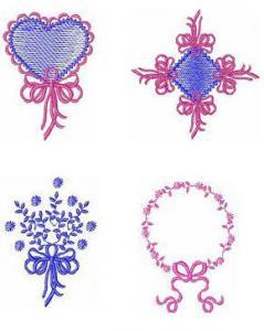 Belindas  Studio Heirloom 4X4 Embroidery Designs Multi-Formatted CD