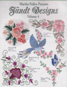 Martha Pullen Zundt Swiss Embroidery Designs Volume 4 Multi Format CD