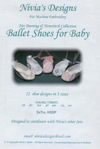 Nivia's Designs For Machine Embroidery Ballet Shoes  Multi-Formatted CD