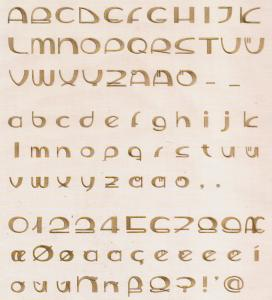 Husqvarna Viking 146 Modern Alphabet Multi-Formatted CD