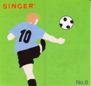 Singer, 386051, No, 8, Sports, 18, Design, Embroidery, Card, Quantum, XL100, XL150, XL1000