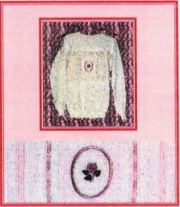Band Sweatshirts - Down Home Dreams DHD02-08 Heirloom Fancy Band Sweatshirt Embroidery Lesson