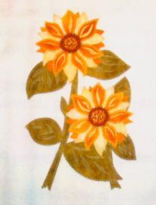 Brother SA621 Ultimate Embroidery Designs Floral 2 Floppy Disk in .pes Format, for ULT2001, 2002, 2003, Babylock Ellageo ESG1-3