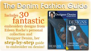 Designs in Machine Embroidery The Denim Fashion Guide Book