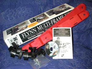 John Flynn's Portable Quilting Multi Frame Kit  for Home Sewing Machines (no rails) with Video