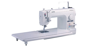 "Brother PQ1500SL 9""Arm Straight Stitch Sewing Quilting Machine 1500SPM, 11x23"" Ext Table, Knee Lift, 7 Feet: Walking 1/4"" Free Motion, Pin Feed,"