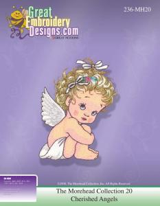 Great, Notion, 112197, MH20, More, head, Cherished, Angel, Multi, Format, CD, Embroidery, Design