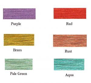 Robison, Anton, 260, Denier, Metallic, Thread, 4, 1000, Yard, Mini, King, Cone, Spool, Color
