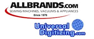 AllBrands & Universal Digitizing Online Custom Digitizing Service