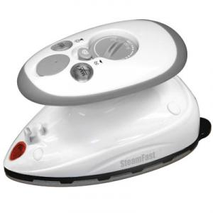 Steamfast SF717A Home Away Steam Iron, Travel Bag, Non Stick, Dual Voltnohtin