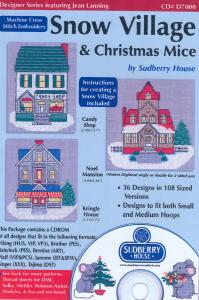 Sudberry House D7800 Snow Village & Christmas Mouse Multi-Formatted CD