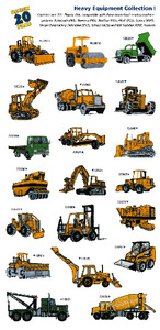 Amazing Designs Great Notions 1059 Heavy Equipment I Multi-Formatted CD