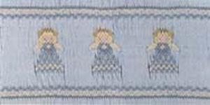 Ellen McCarn Angels Smocking Plate