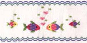 Ellen McCarn EM110 Bubbling Hearts Smocking Plate Pattern