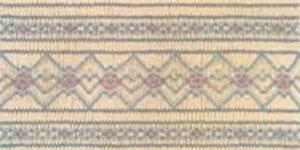 Ellen McCarn, EM028, Brooks, Smocking Plate, Pattern with Colors