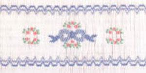Ellen McCarn Classic Bow Smocking Plate