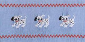 Ellen McCarn Dalmation Puppies Smocking Plate
