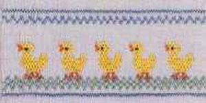Ellen McCarn Ducks in a Row Smocking Plate