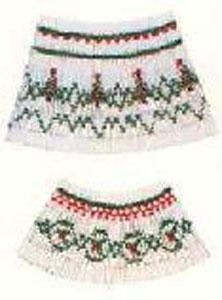 Ellen McCarn EM025 First Christmas Smocking Plate